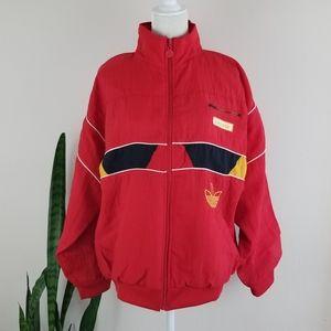 VTG 80s Adidas Trefoil Lined Windbreaker Jacket